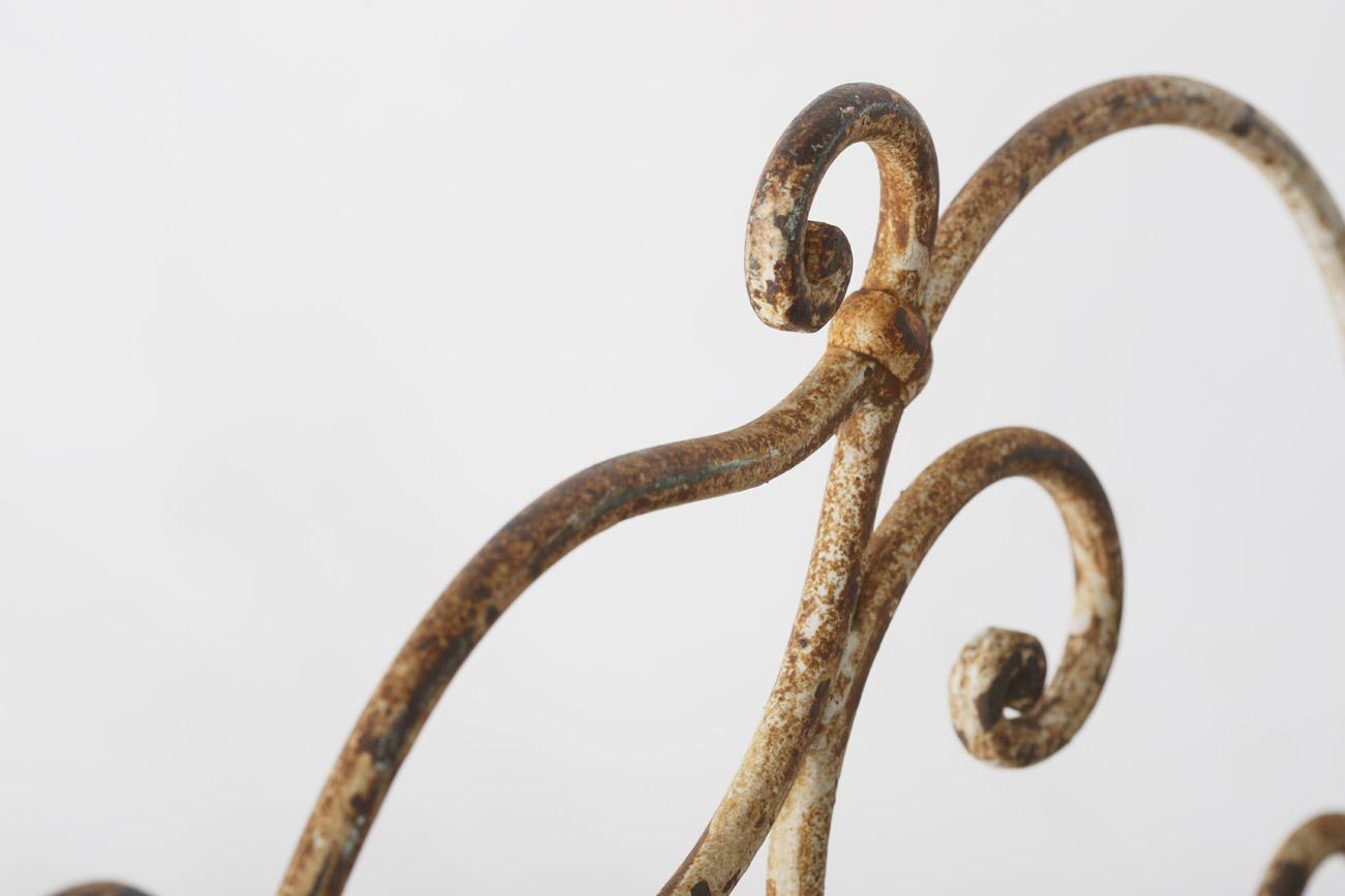 Sillas de jardín de hierro