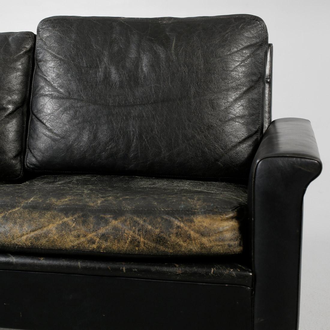 Sofá de piel danés