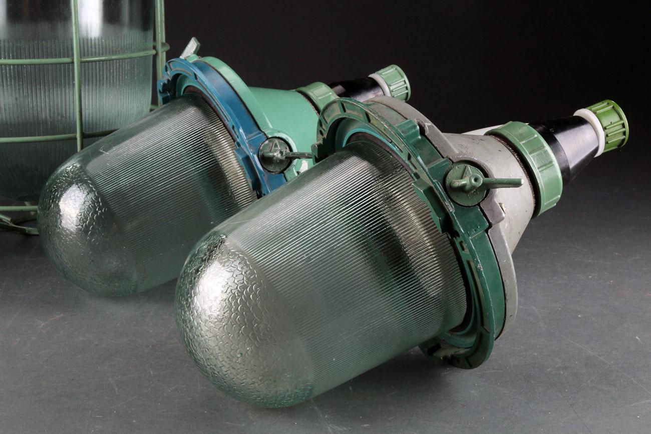 Lámparas industriales rusas
