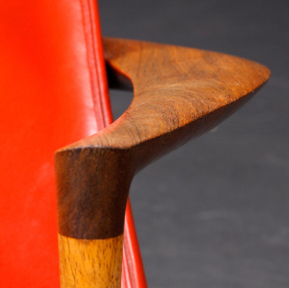 Butaca y taburete de Kodof Larsen