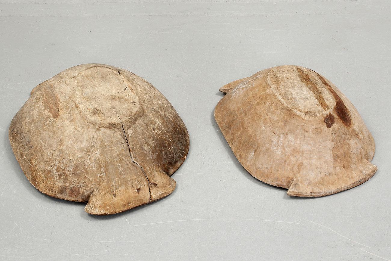 Cuencos de madera para harina