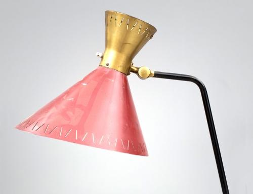 Lámpara de pie finlandesa – Vendida