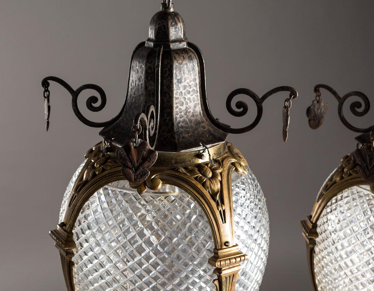 Lamparas colgantes Louis XVI