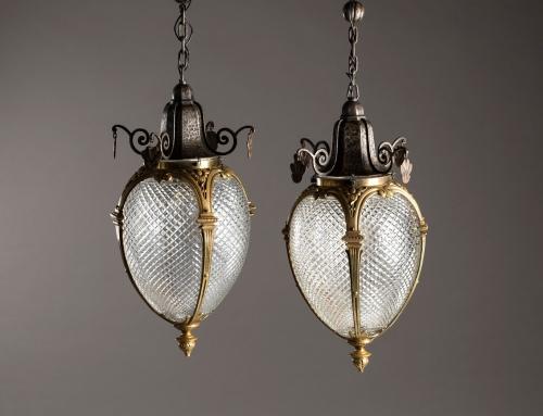 Lámparas colgantes Louis XVI – Vendidas