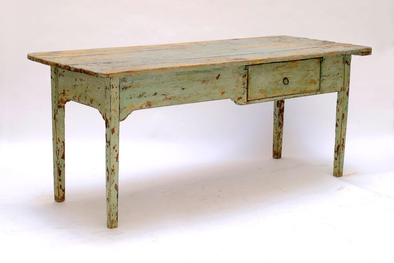 Mesa de campo italiana. Siglo XVIII