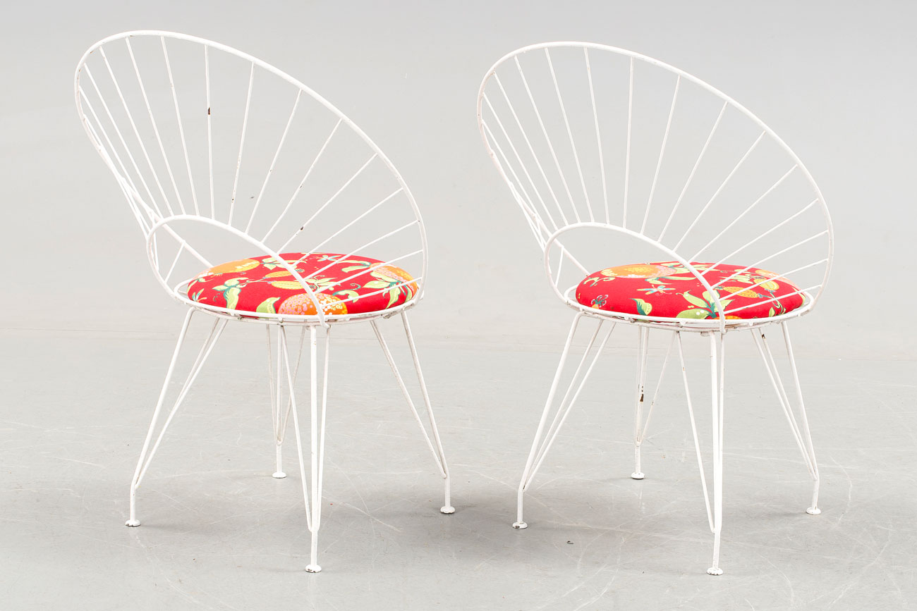 Desiree garden chairs by Yngve Ekström