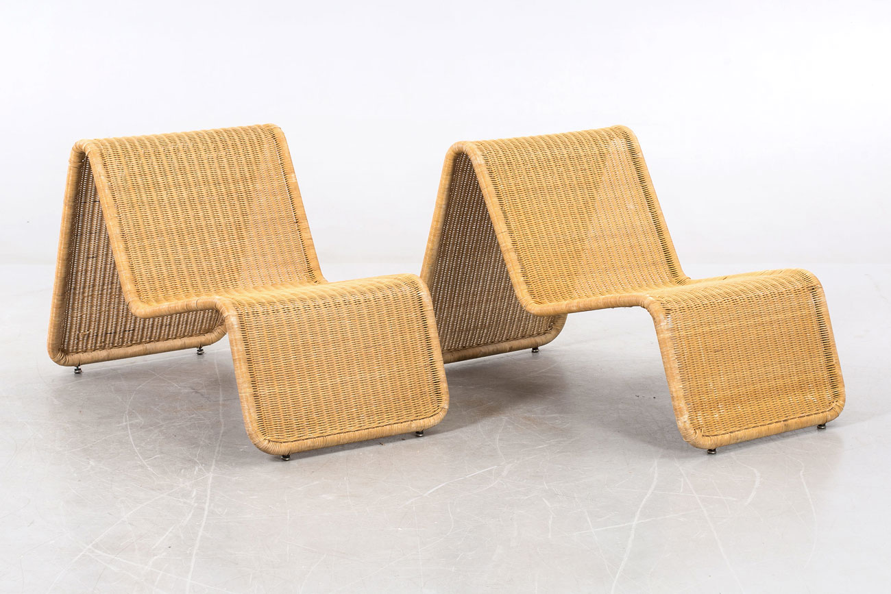 Lounge chairs by Tito Agnoli