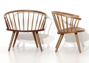 Arka chairs by Yngve Ekstrom