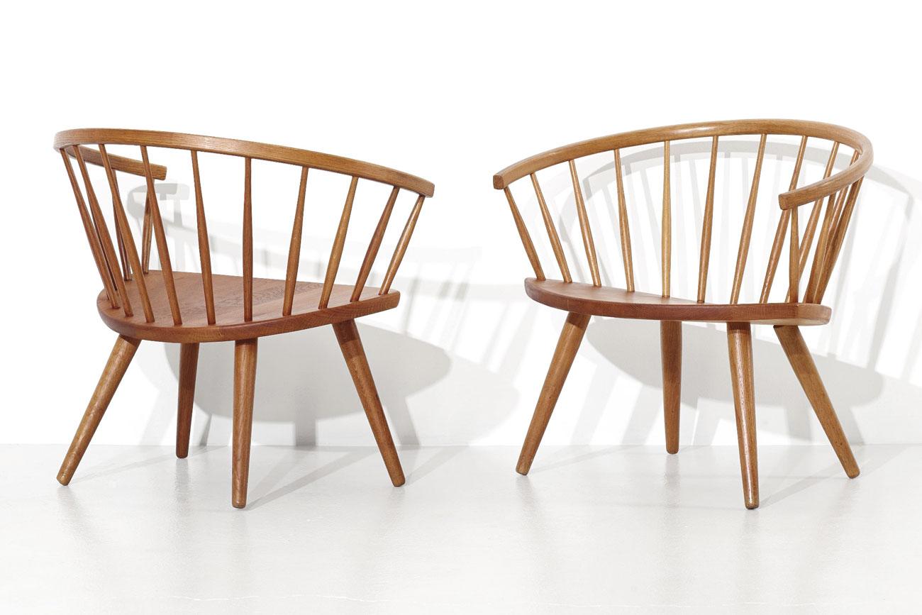 Arka chairs by Ynge Ekstrom