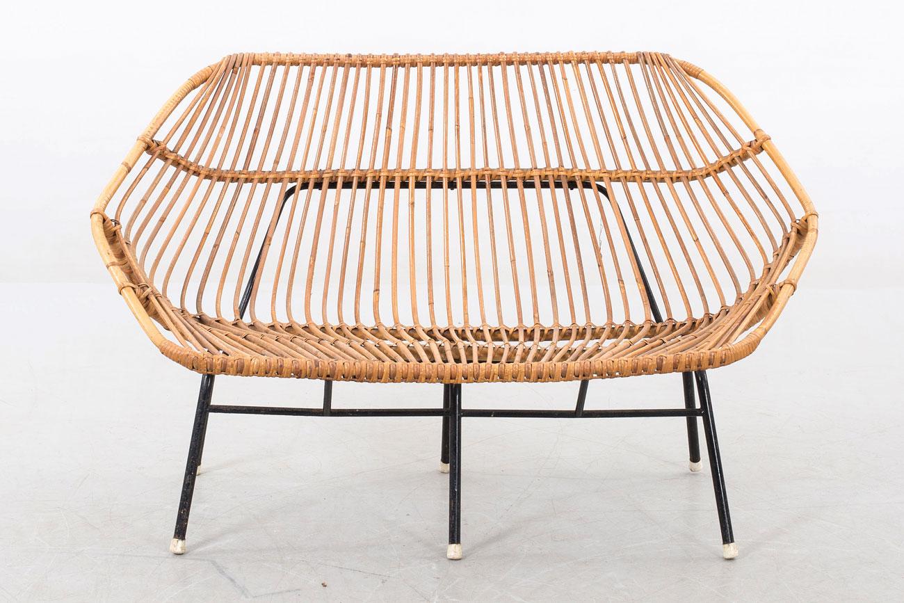 Sofá italiano de bamboo