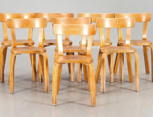 Sillas de Alvar Aalto – Vendidas