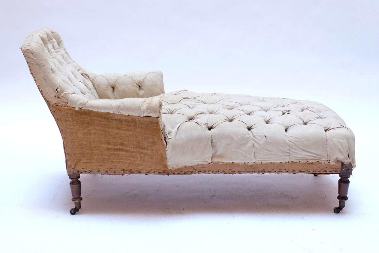 Chaise longue francés