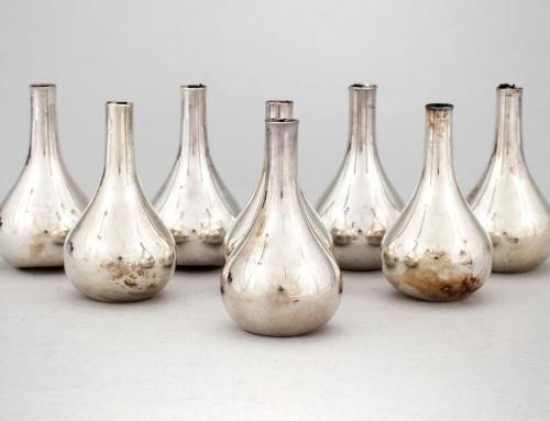 Candelabros de plata de Jens Quistgaard