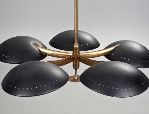 Lámpara de techo de Stilnovo – Vendida